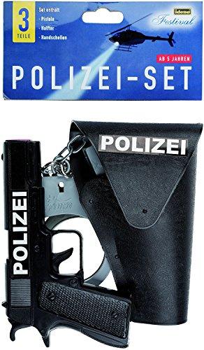 Idena 8040007 - Polizei Set, Pistole,...