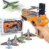 Sunshine smile Katapult Flugzeug Spielzeug,Katapult Flugzeug ,Spielzeug Pistole Für Kinder,Flugzeug Spielzeug mit 4 Pcs Schaum Flugzeug,Catapult Flugzeug Spielzeug,Flugzeuge für Kinder