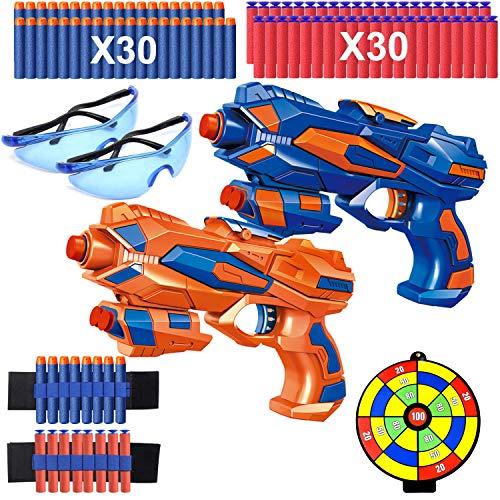2er Set Pistole Kinder, Spielzeug...