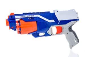 Nerf Spielzeugpistole