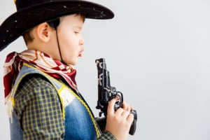 Spielzeugpistole für Kinder